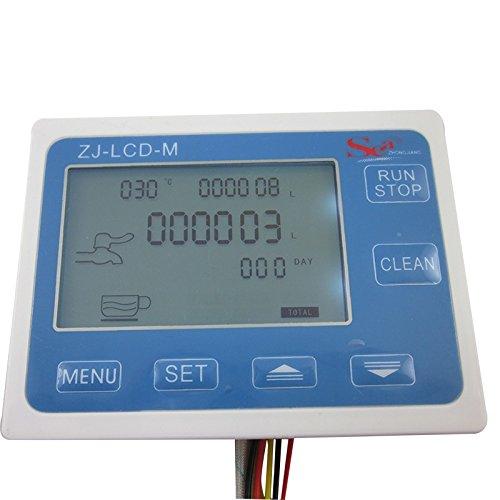 DIGITEN G2'' 2inch Flow Water Sensor Meter+LCD Display Quantitative Control 10-200L/min