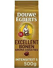 Douwe Egberts Koffiebonen Aroma Variaties Excellent (2 kg, Intensiteit 05/09, 100% Arabica Medium Roast Koffie), 4 x 500 g