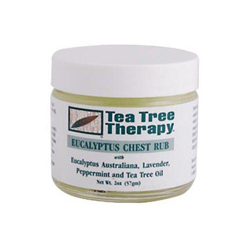 Bulk Saver Pack 12x2 OZ : Tea Tree Therapy Eucalyptus Chest Rub Eucalyptus Australiana Lavender Peppermint and Tea