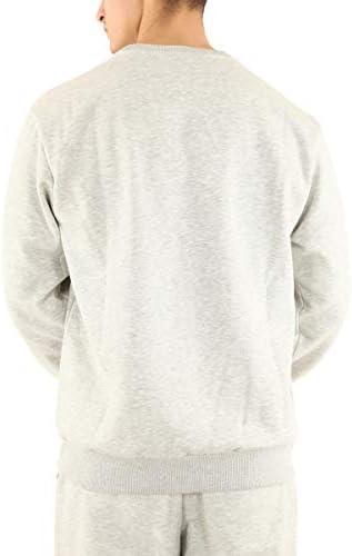 Fila Sweater Herren Hector Crew Sweat 687457 B13 Light Grey Melange