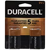 Duracell Coppertop 9V (MN1604), 2-Count