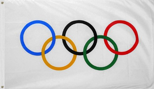 Image result for olympic flag
