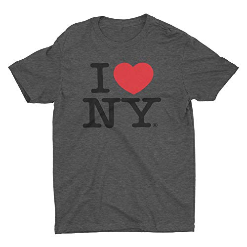 I Love NY Charcoal T-Shirt Unisex Tee Licensed Official Xl