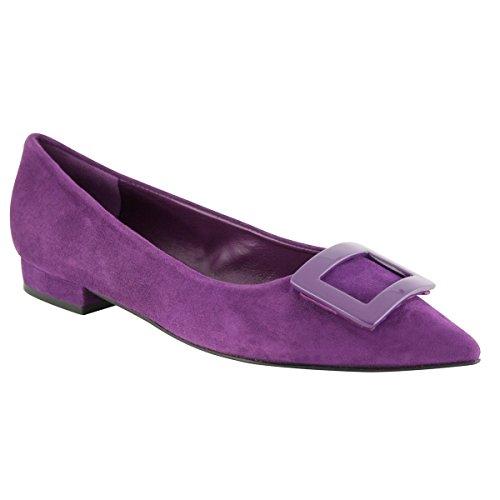 Women's Flats Violet Ballet Paris Exclusif wqCvZxHq