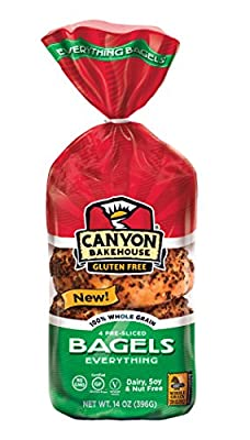 Canyon Bakehouse Gluten Free Everything Bagel 14oz