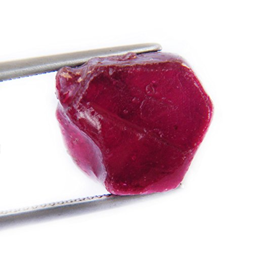 26.20 Ct. Very Rare Big! Natural Rough Red Ruby Madagascar Big Rough Faceted
