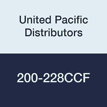 Carbon Steel Ferrules United Pacific Distributors 200-228CCF Crimp Fittings Internal Diameter 2.875 Hose Size 2 Internal Diameter 2.875 Hose Size 2