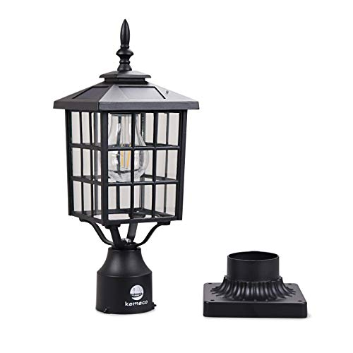 Cast Aluminum Outdoor Lamp Post in US - 5