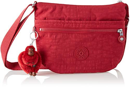 Bandolera Mujer Arto C Kipling Bolso Red S radiant Cm Rojo Para 25x21x3 dtqZZw6Xa