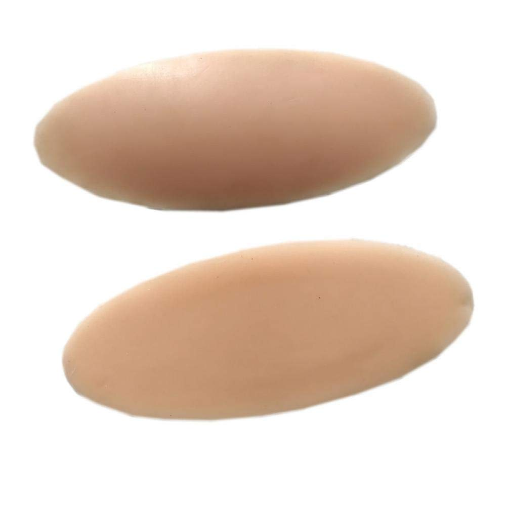 100% Medical Silicone Leg Onlays Soft Calf Pad Body Beauty Leg Correctors Calf Shaper Pads Light Nude 300g by Zewall7