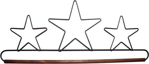 Ackfeld 16-Inch Dowel Fabric Holder, Three Stars - Fabric Holder Ackfeld
