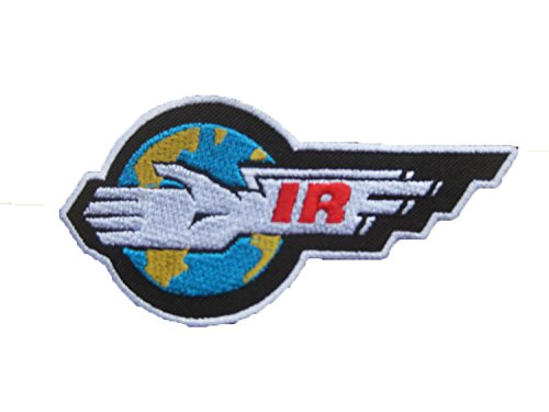 Gerry Anderson THUNDERBIRDS IR International Rescue Classic LOGO sew iron on Patch Badge Embroidery 5x10.5 cm 2