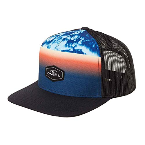 (O'Neill Men's Rockaway Trucker Adjustable Hats,One Size,Navy)