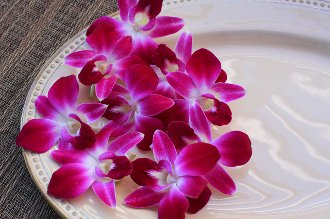 Fresh Edible Flower Orchid - 25ct