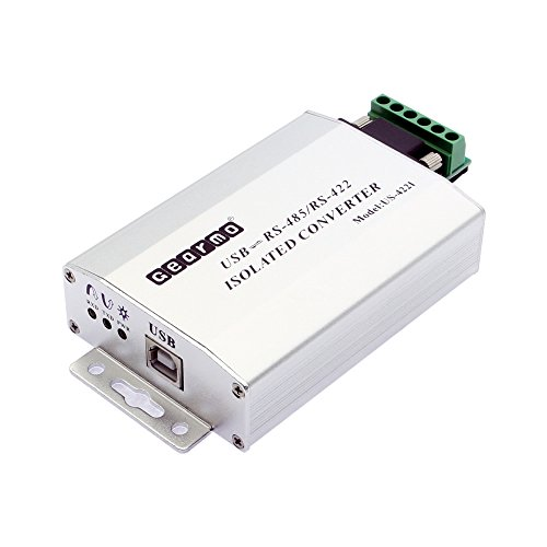 Gearmo FTDI Chip USB to RS485/RS422 Industrial Isolated with DB-9/RJ45/Terminal Screw 232 Data Converter Unit
