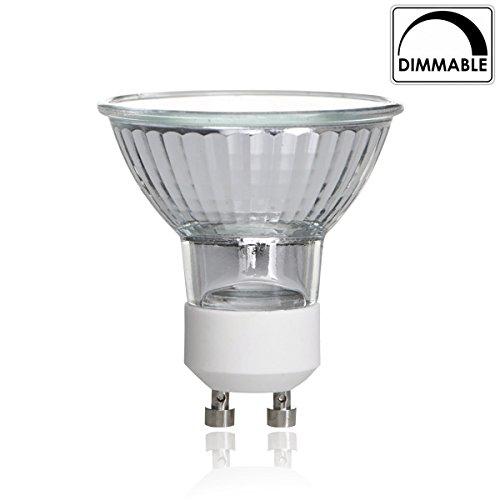 Luxrite-LR20590-50WMR16120V-50-Watt-Halogen-Pin-Base-Light-Bulb-Glass-Cover-Dimmable-Warm-White-2700k-450-Lumens-GU10-bi-pin-base