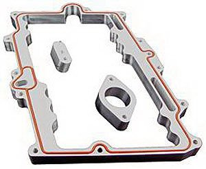 Taylor Cable 11011 Vmax Intake Manifold Spacer (1999 Chevy Tahoe Intake Manifold compare prices)