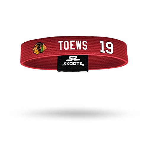 Officially Licensed NHL Chicago Blackhawks Jonathan Toews Fitted Wrist Band (Large)
