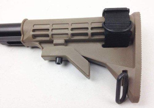 Ultimate Arms Gear Slip On Stock Buttstock Black Loop