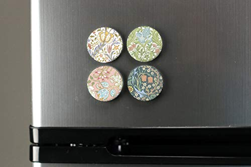 Amazon.com: buttonsmith® William Morris Art Imán Set, Fine ...