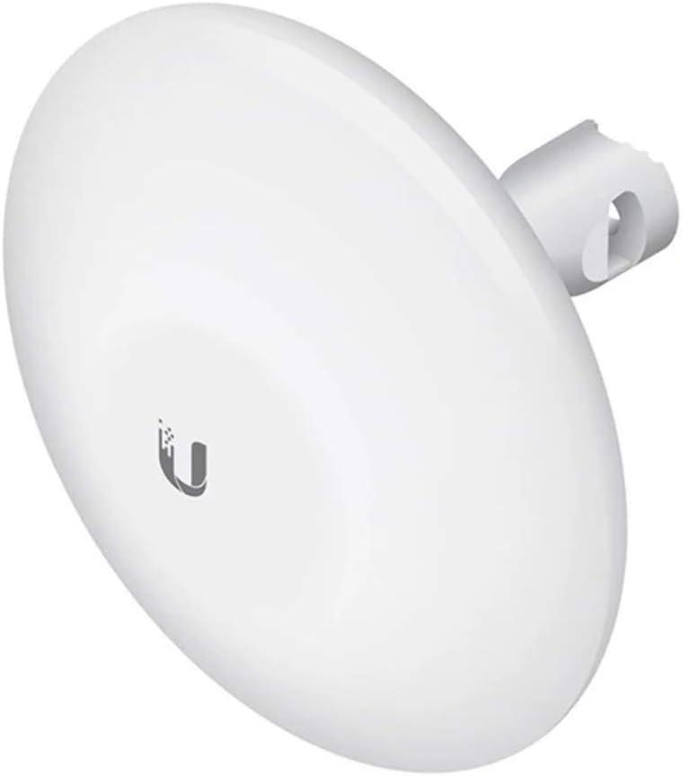 Ubiquiti Networks NanoBeam M5 16dBi - Antena (Polarización Dual, Pared, Color Blanco, FCC, IC, CE, 24V, -40-70 °C)