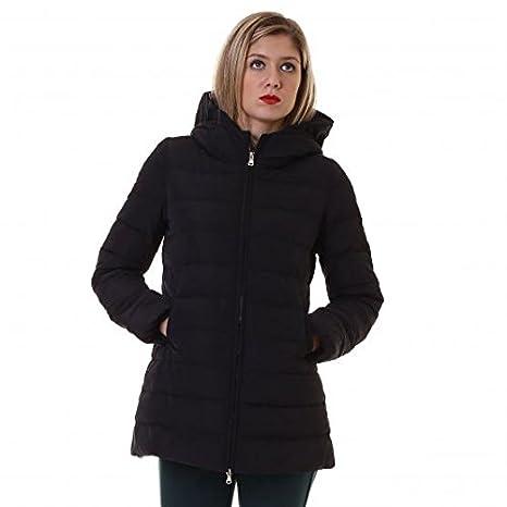 EMME Marella idalio acolchado abrigo mujer, negro: Amazon.es: Deportes y aire libre