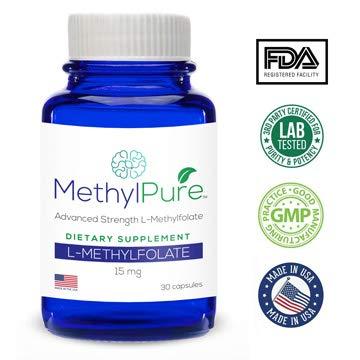 Methylpure L-Methylfolate 15mg - 30 Capsules Maximum ()