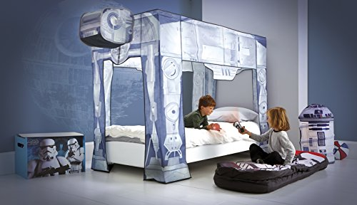 Star Wars Bed Canopy, AT AT Design, Fits Single Bed: Amazon.co.uk: Kitchen  U0026 Home