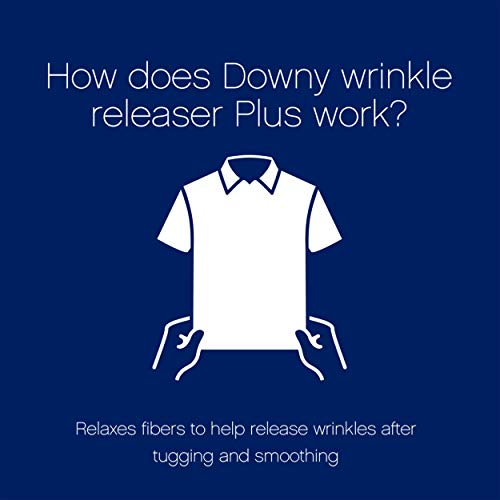 Downy Wrinkle Releaser Fabric Spray, Light Fresh Scent, 67.6 Total Oz (Pack of 2) – Odor Eliminator, Fabric Refresher…