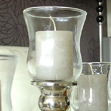 Amazonde Dekowelten 1 X Teelichthalter 10cm Aus Glas Gastro Dicke