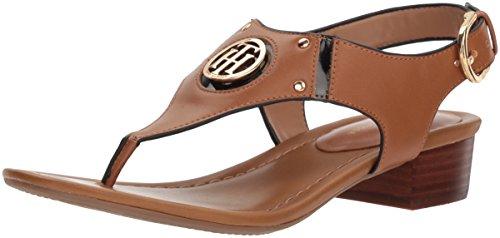Tan Kissi Women's Hilfiger Sandal Heeled Black Tommy a84AqwnX