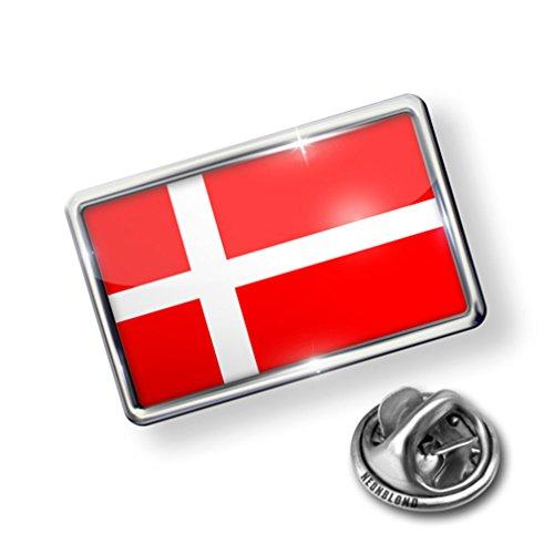 new Pin Denmark Flag - Lapel Badge - NEONBLOND on sale