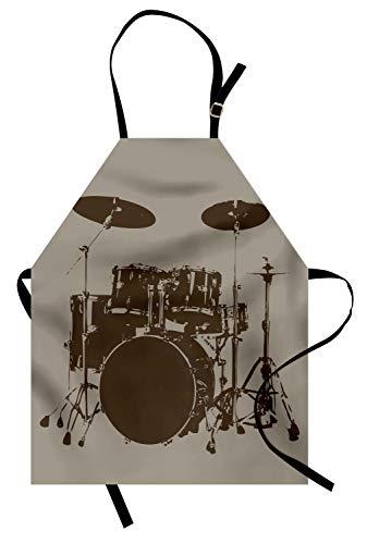 Spoon Man Costumes - Lunarable Music Apron, Grunge Drum Kit
