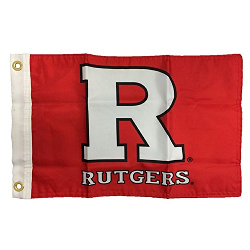 NCAA Rutgers Scarlet Knights Boat/Golf Cart Flag