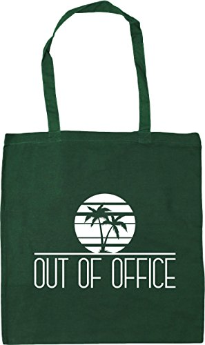 HippoWarehouse Gym 42cm Green Bottle Office Beach Bag Shopping Tote 10 Out litres Of x38cm rFXqBwF