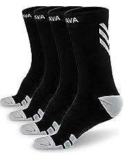 Dovava Dri-tech Compression Crew Socks 15-20mmHg (4/6 Packs) Quick Dry Athletic Running Socks
