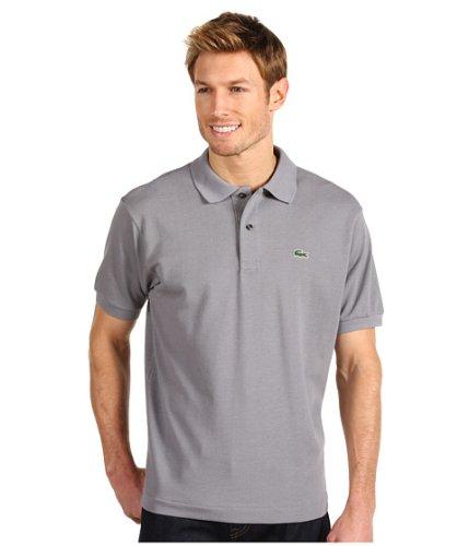 (ラコステ) LACOSTE メンズポロシャツ L1212 Classic Pique Polo Shirt [並行輸入品] B072Q8MWNK 7 (XXL)|Platinum Platinum 7 (XXL)