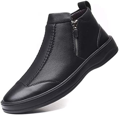 ショートブーツ メンズ ラウンドトゥ 革靴 ウエスタンブーツ皮靴 紳士靴 フォーマル 冠婚葬祭 トレッキングシューズ サイドジッパー 靴 チェルシーシューズ 秋冬 走れる マーティンブーツ スノーブーツ