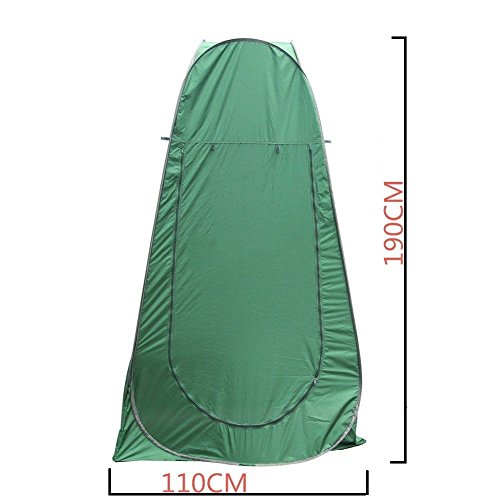 Heaven Tvcz Hiking Tent Green Pop Up Dressing Toilet Shower Changing Room Beach Camping US by Heaven Tvcz