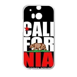 california republic t shirt Phone Case for HTC One M8