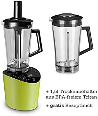 Jupiter nutrimix Licuadora y Blender verde + seco Bandeja 1,5L ...