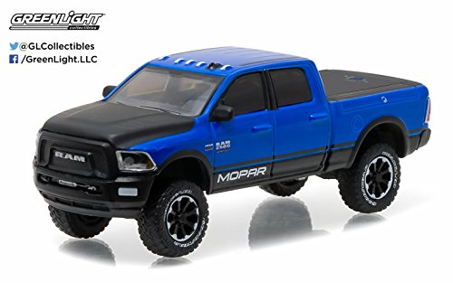 New 1:64 ALL-TERRAIN SERIES 4 - BLUE 2017 DODGE RAM 2500