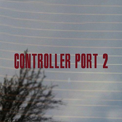 Control Port 2 Vinyl Decal (Merlot Burgundy) (Merlot Port)