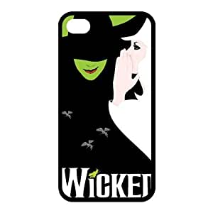 Customize The Wicked Musical Broadway Drama Back Case for iphone 4 4S JN4S-1987