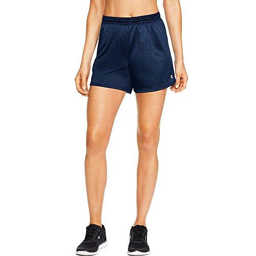 Ladies Mesh Shorts - Champion Womens Mesh Shorts(7791)-Heritage Navy-M