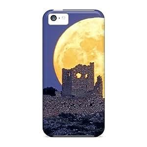 USMONON Phone cases Fashion Tpu Case For Iphone Iphone 5c- Greek Fullmoon Defender Case Cover
