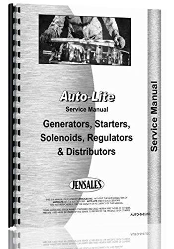 Comb Elec (Auto-Lite Distributors, Generators, Starters, Regulators Service Manual)