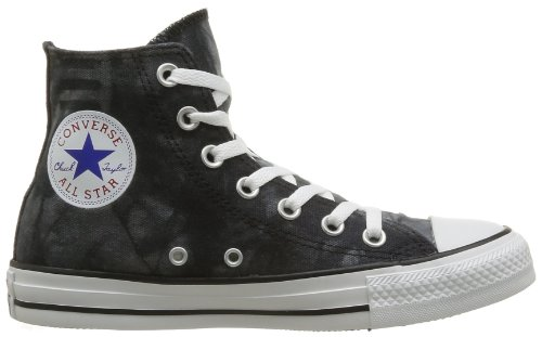 Converse Mens Chuck Taylor All Star Star And Bars Sneaker Hi-top Nero / Bianco