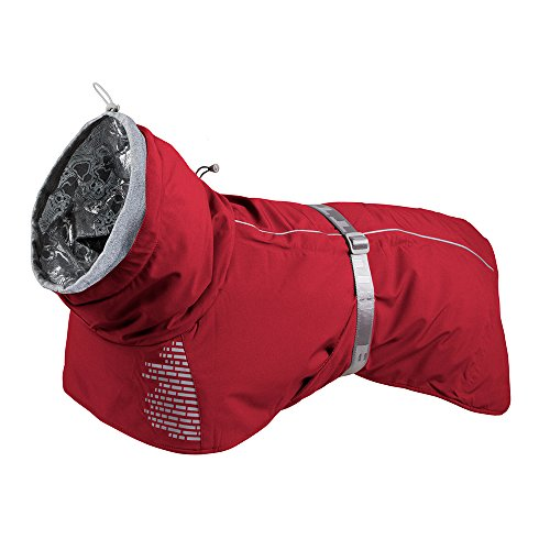 Image of Hurtta Extreme Warmer Dog Winter Jacket, Lingon, 20 in