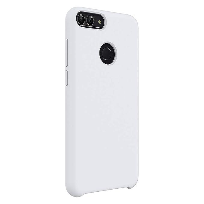 Compatible con Huawei Honor 9/ Huawei Honor 9 Lite Funda,Silicona Protección Carcasa Ultra Thin Protector Delgado para Protectora Negro de Pantalla ...